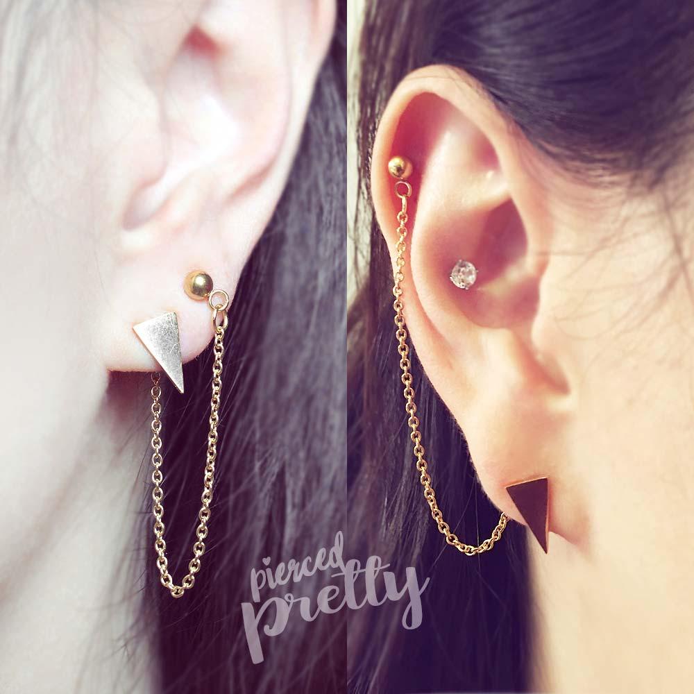 Home Handmade Earrings Helix